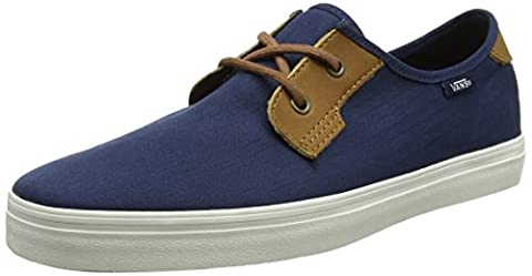 Vans Mn Michoacan Sf, Sneakers Basses Homme, Bleu (Herringbone Twill Dress Blues), 44 EU
