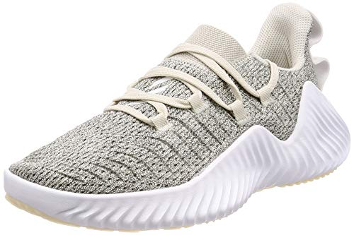 Adidas Alphabounce Trainer W, Scarpe da Ginnastica Donna, Bianco Raw Ftwr White/Grey Three F17, 38 2/3 EU