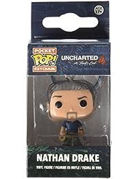 Funko - Llavero Figura Pop! Uncharted: Nathan Drake