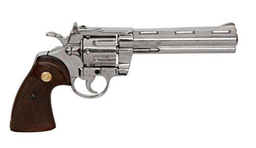 Denix Replica Rick''s Revolver Python 357 Magnum USA 1955 Zombiekiller' (Kindes Walking Dead Rick Grimes Kostüm)