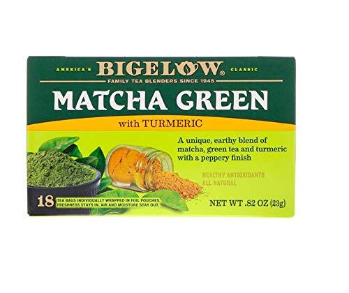 Bigelow, Matcha Green Tea with Turmeric, 18 Tea Bags