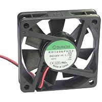 Sunon Axiallüfter KD1206PHS2 60x60x15mm 12V 4000 U/min Gleitlager