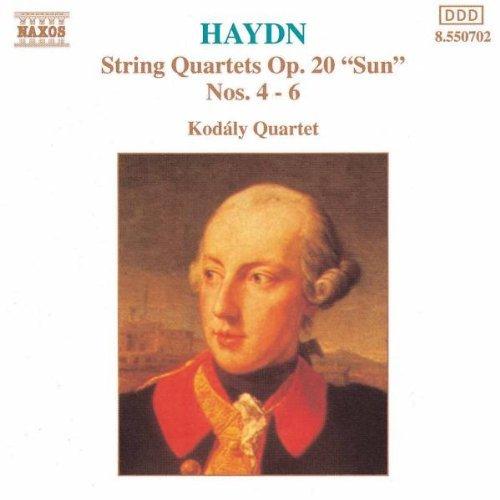 Haydn: String Quartets Op. 20 Nos. 4-6 by Haydn: String Quartets Op. 20 Nos. 4-6 (2006-08-01)