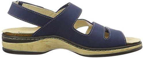 Weeger 15640, Sandali Donna, Blu (Blau Blau), 36 EU