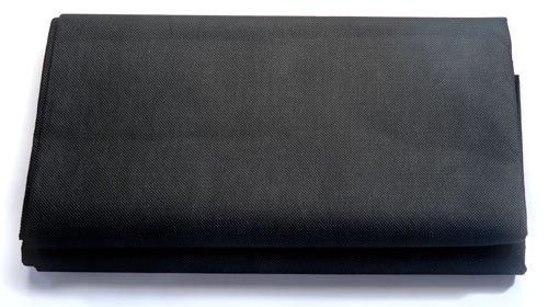 Sandkastenvlies 1,60 x 1,60 m schwarz – Schutzvlies für Sandkasten