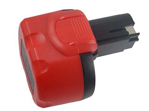 vhbw NiMH Akku 3300mAh (9.6V) für Elektrowerkzeug Werkzeug Powertools Tools wie Bosch BAT048