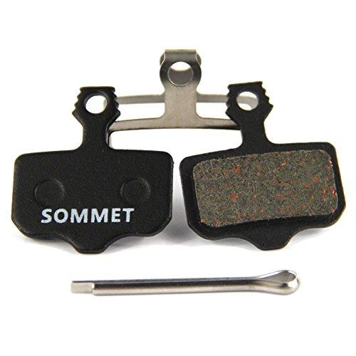 SOMMET Pastiglie freno a disco semi-metallico per Avid Elixir E1 E3 E5 E7 E9 CR er Avid DB DB1 DB3 DB5 Avid XO XX ZSP05-1