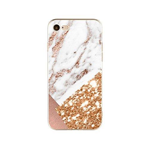 Coque iPhone 6 6s Housse étui-Case Transparent Liquid Crystal en TPU Silicone Clair,Protection Ultra Mince Premium,Coque Prime pour iPhone 6 6s-Marbre-style 21 14