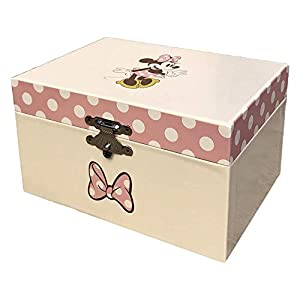 Minnie Mouse- Joyero Caja Musical de Minnie, Multicolor, única (Kids Licensing WD20323)