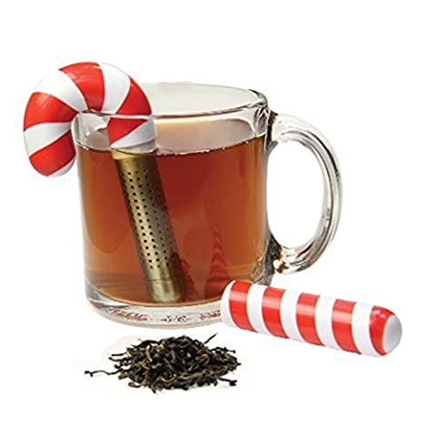 Holiday Candy Cane Tea Infuser by DCI