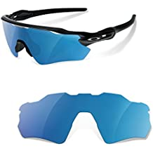 Lentes Polarizadas Color Azul Espejo para Oakley Radar Path EV