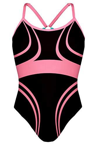 TAYMORY Bañador de Natación Mujer Ultimate ONA Carbonell XL