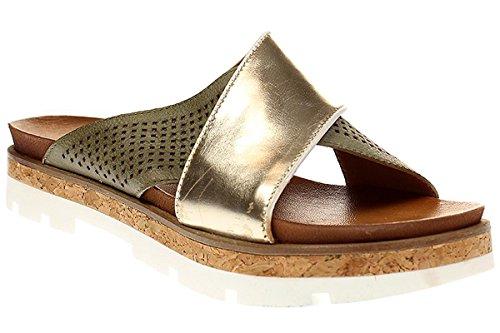 Mjus SUNRISE - - - Damen Schuhe Pantolette Sandalette - 840016-0102 Gold  [B071R6DRHL] 3e48b6