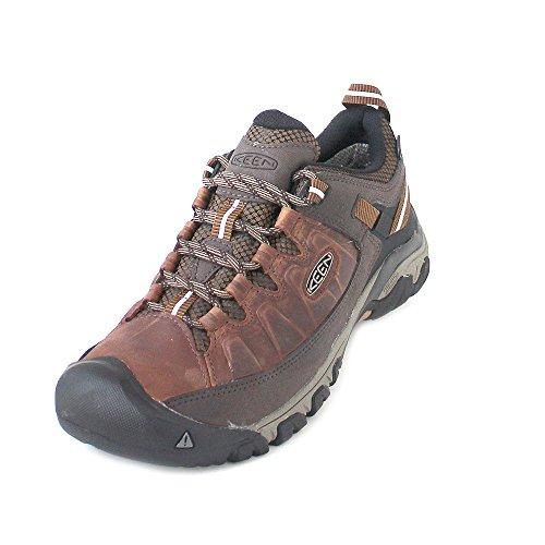Keen Schuhe Für Männer (Keen Herren Targhee III WP Trekking-& Wanderhalbschuhe, Mehrfarbig (Big Bend/Golden Brown), 45 EU)