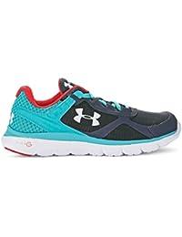 Under Armour Micro G Velocity Run Zapatillas de running para mujer, color Beige, talla 40