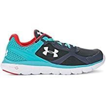 Under Armour Micro G Velocity Run Zapatillas de running para mujer, color Beige, talla 40