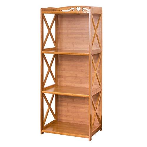 Liqin ripiani armadi di serraggio, armadi for snack, scaffali domestici, scaffali di stoccaggio, armadi di stoccaggio, scaffali combinati multistrato (color : 4-layer, size : 60cm)