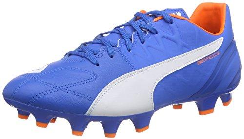 pumaevospeed-34-lth-fg-calcio-scarpe-da-allenamento-uomo-blu-blau-electric-blue-lemonade-white-orang