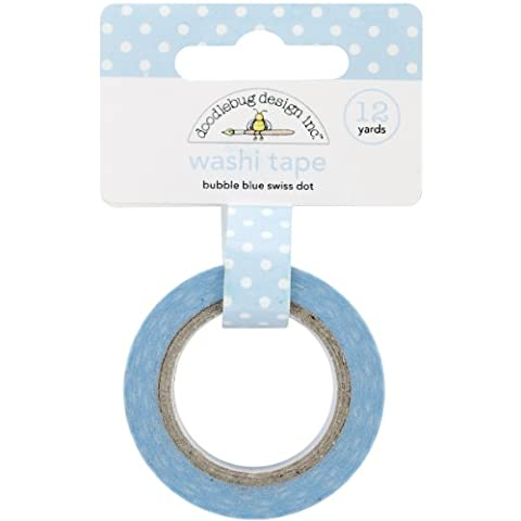 Doodlebug 15 mm Bubble Swiss Dot Washi Tape,