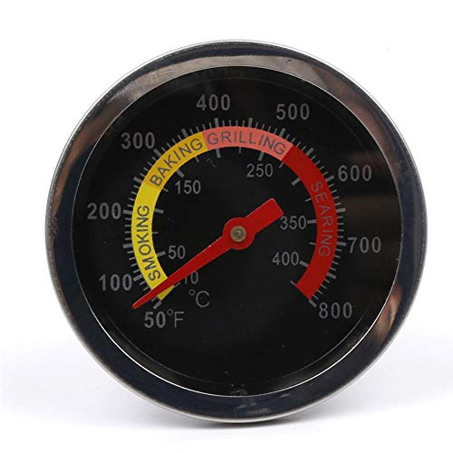 SULUO Outdoor Barbecue Thermometers Dial Display BBQ Grill Temp Gauge Meat Temperature Meters Kitchen Household Thermometers,A