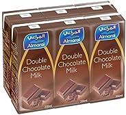 Almarai Uht Double Chocolate Milk - Buy 5 Get 1 Free, 200 ml