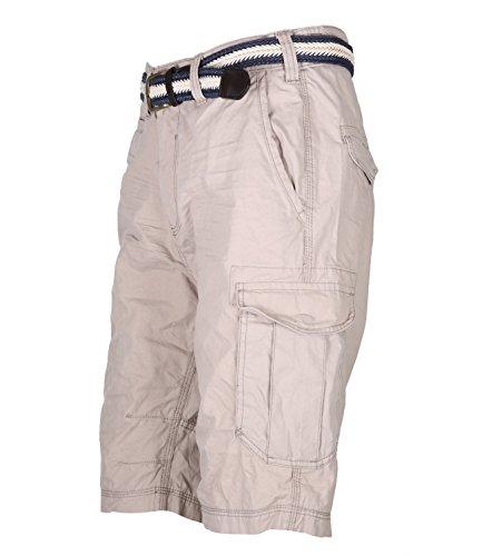 Sublevel Herren Bermuda Shorts Beige Stone