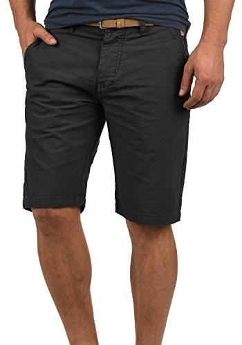 Redefined Rebel Mumbai Herren Chino Shorts Bermuda Kurze Hose Mit Gürtel Aus 100% Baumwolle Regular Fit, Größe:S, - Tank Mit Top Gürtel Herren
