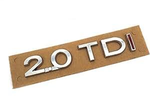 Pièces de rechange d'origine volkswagen vW avec inscription'autocollant 2.0TDI (zB passat touran golf..)