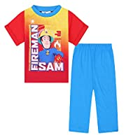 Fireman Sam Official Gift Baby Toddler Boys Kids Long Pyjamas