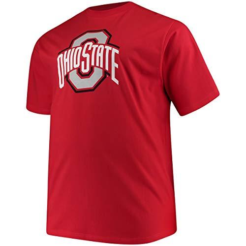 Profile Varsity Ohio State University Herren Big & Tall Buckeyes Logo T-Shirt, Herren, rot, 2XT (Football-t-shirt Ohio State)
