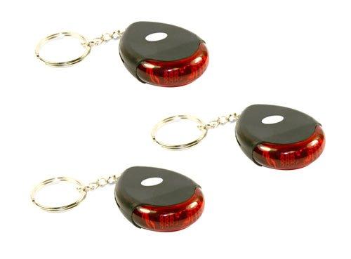 3 Stück Keyfinder Schlüsselfinder mit LED & Ton