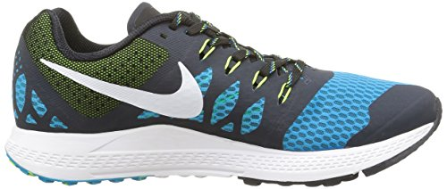 Nike Air Zoom Elite 7 Herren Sneaker Blau (Blaue Lagune/Volt/Brigade Blau/Dunkel Obsidian)