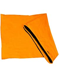 X-Tube Multifunctional Scarf made of Cotton, GOLDYELLOW