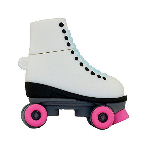 Pendrive Pink Schlittschuhe Stil Pen Drive USB Stick 32 GB Cartoon Roller Skates Schuhe USB-Stick Memory Stick