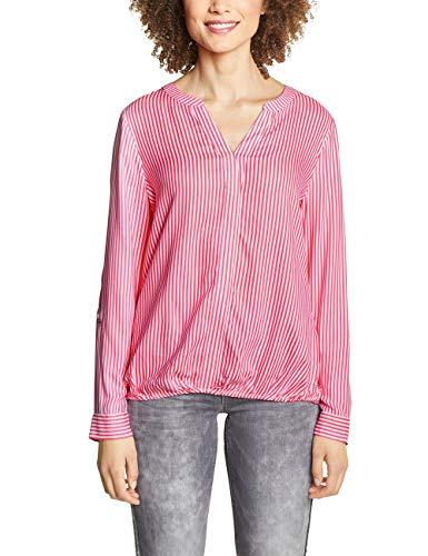 Street One Damen 341356 Bluse,per Pack Mehrfarbig (Blossom pink 21710),38 (Herstellergröße:38) -