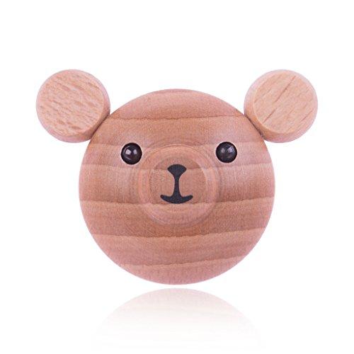 4 pezzi mobili manico pomelli per mobili resina legno - Pomelli per mobili bambini ...