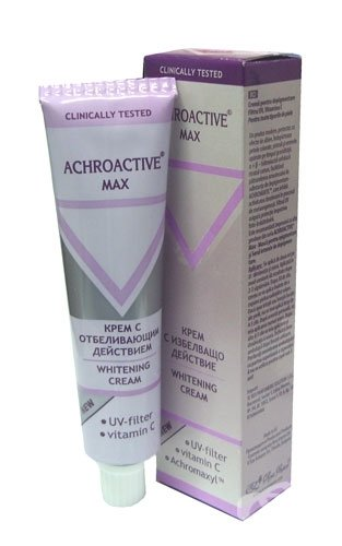 Achroactive Max - New Formula of Achromin - Whitening Cream 45ml by Rosa Impex