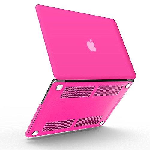 Partei Und Zubehör Rosa Brown (iBenzer - Neon-Partei-Serie Kunststoffabdeckung des schweren Kastens für Macbook Pro 13,3'' mit Retina Display (A1502 / A1425) NO CD-ROM, Gelee Rosa)