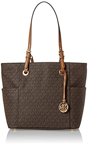 Michael Kors Damen Jet Set Item Tote Shopper, Braun (Brown), 15 x 29 x 37 cm