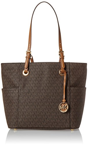 Michael Kors Damen Jet Set Item Tote, Braun (Brown), 13.3x27.3x39.4 centimeters
