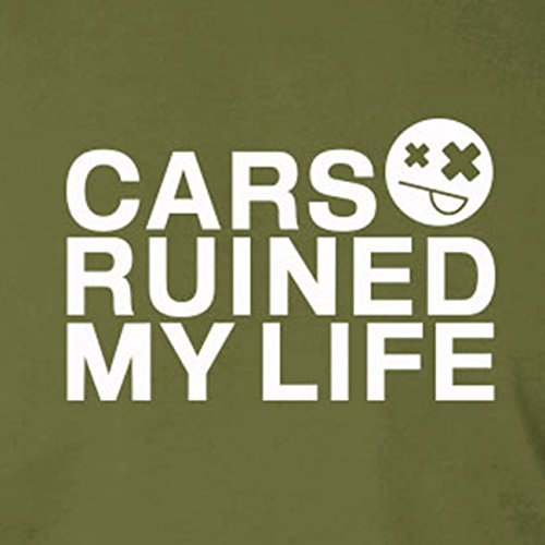 Cars ruined my Life - Stofftasche / Beutel Oliv