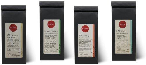 Probierset Biotee Quertee® Nr. 5 - 4 x 50g Bio Tee - Geschenkset -