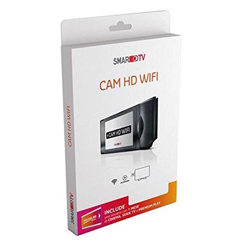 CAM HD WiFi–inkl. Karte MEDIASET mit 1Monat von Kino, TV-Serie und Premium Play dec1050
