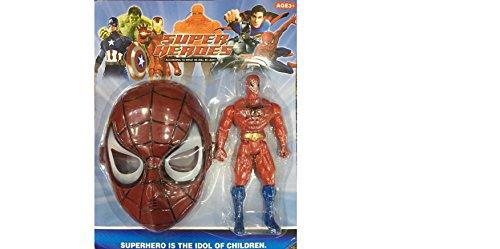 OTE Spiderman Hero Series,Spiderman Mask With Spider-Man Figure