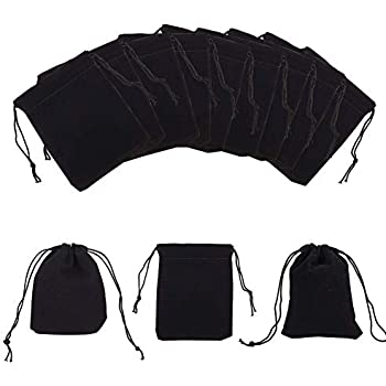 Pixnor 10/Pochette pour bijoux en velours avec cordon sac pochette sac cadeau