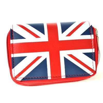 EyeCatchBags - Damen Geldbeutel Gelbörse Union Flag Rot