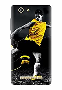 Noise Gionee F103 Pro , Printed Designer Back Cover For Gionee F103 Pro Case cover/ Sports / Footballers Design - (GD-1767)