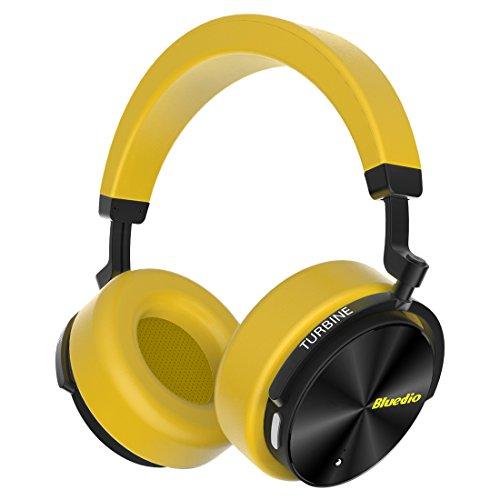 Bluedio T5 Auriculares Bluetooth inalámbricos de Cancelación de Ruido Activa,...
