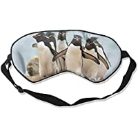 Eye Mask Eyeshade Penguin Walking Sleeping Mask Blindfold Eyepatch Adjustable Head Strap preisvergleich bei billige-tabletten.eu