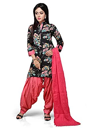 Vastra Vinod Cotton Straight Salwar Suit Set